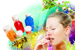 Воздействие аллергенов на организм