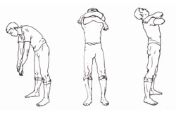 Выполнение упражнения  «Крепкие объятия»