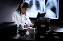 Диагностика бронхита у врача