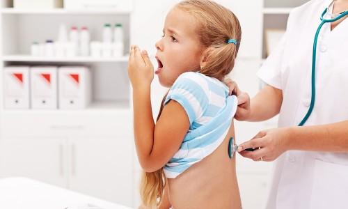 Осмотр ребенка врачом
