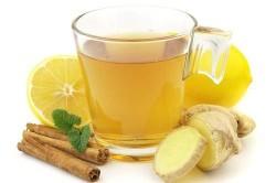 Чай из имбиря от кашля