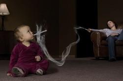 Пассивное курение - причина обструктивного бронхита у детей